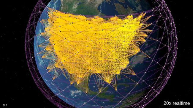 马斯克称星链卫星将以97%的光速传输数据