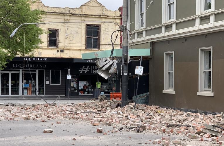 墨尔本地震:澳大利亚东南部发生 5.8 级地震,墨尔本市的建筑物受损