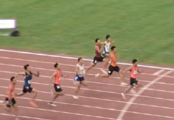 9秒95!男子百米飞人大战 苏炳添首夺全运会百米冠军