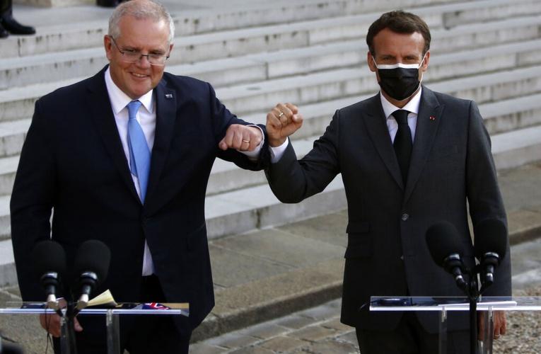 """澳大利亚称""""不后悔"""" 法国为什么如此伤心?"""