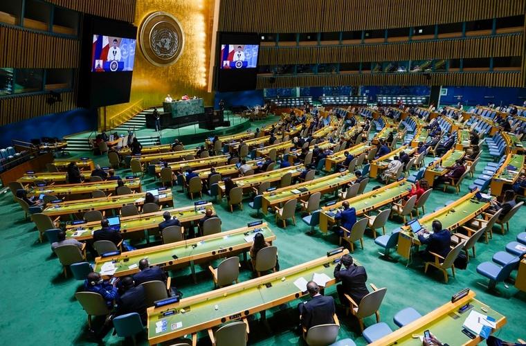联合国开大会 塔利班要求发言 还任命了一位驻联大使