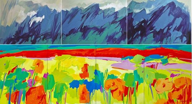 新西兰画家晨晓画展在江西景德镇开幕