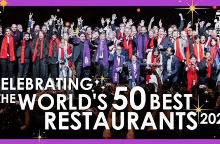 2021 年全球 50 家最佳餐厅揭晓